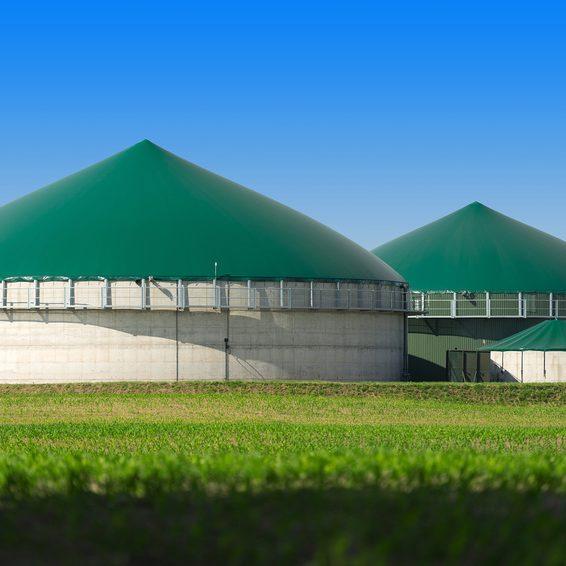 Biogasanlage 2871